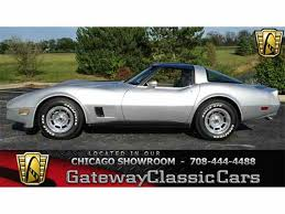 1981 chevy corvette 1981 chevrolet corvette for sale on classiccars com 37 available