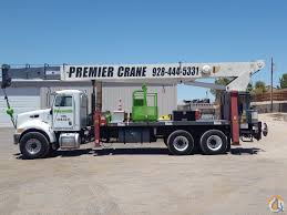terex rm4792 on 2006 peterbilt 335 chassis crane for sale on