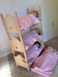 by him and her make your own triple bunk beds for american