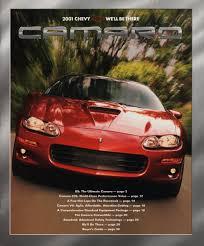 camaro ss 01 gm 2001 chevrolet camaro sales brochure