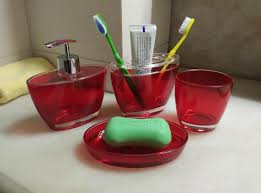 Red Bathroom Accessories Sets by Popular Red Bathroom Sets Buy Cheap Red Bathroom Sets Lots From