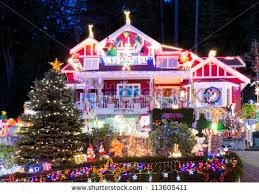 christmas lights house stock images royalty free images u0026 vectors