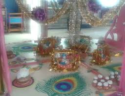 How To Decorate Janmashtami At Home 28 Home Decoration For Janmashtami 15 Incredible Krishna