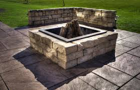 homemade fire pit ideas rumblestone outside fireplace build custom
