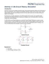 1 1 5 ab circuit theory simulation