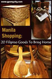 manila shopping 20 filipino goods to bring home