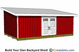 16 X 24 Garage Plans by 16x24 Shed Plans Buy Our Large Shed Plans Today Icreatables