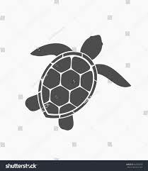 sea turtle icon vector illustration stock vector 642064516