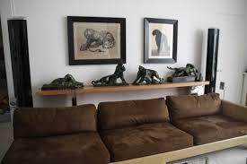 deco canape marron salon marron et gris idées de décoration capreol us