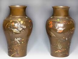 Large Metal Vase Antique Japanese Vases The Uk U0027s Premier Antiques Portal Online