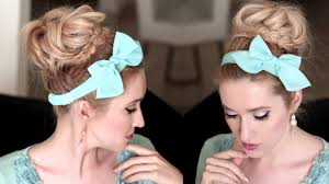 lilith moon youtube big messy bun hairstyle tutorial voluminous braided updo for