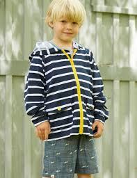 navy yellow boys lightweight raincoat hatley uk