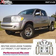 2002 toyota tundra lift kit revtek 2000 2006 toyota tundra 2 5 lift leveling kit 4x4 models