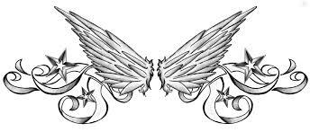 download back tattoo designs wings danielhuscroft com