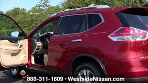 nissan rogue youtube 2016 cayenne red 2016 nissan rogue interior in stock westside nissan