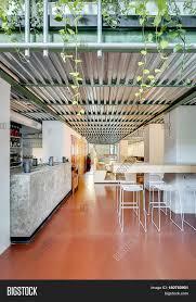 loft style cafe light walls image u0026 photo bigstock