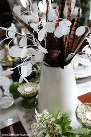 table top decoration ideas fall wildflower tabletop decorating ideas setting for four