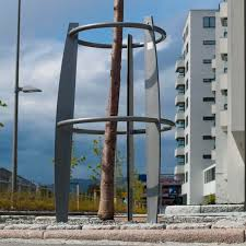 galvanized steel tree guard by artur wozniak hallvard
