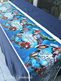 Avengers Table And Chairs Avengers Party Ideas