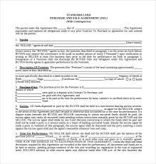 sample purchase and sale agreement 11 documents in word pdf
