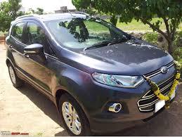 my ford ecosport diesel titanium o sea grey team bhp