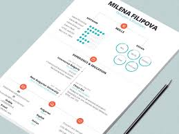 Designed Resumes 50 Inspiring Resume Designs And What You Can Learn From Them U2013 Learn