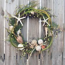 seashell wreath coastal diy seashell christmas wreath
