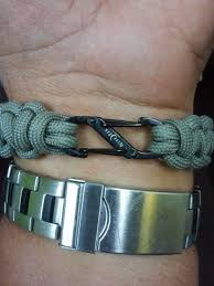paracord bracelet buckle make images Replace bulky buckle on paracord bracelet with pictures jpg
