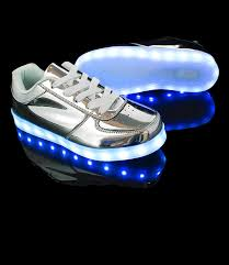 led light up shoes for adults holographic light up shoes exclusive led hologram silver led shoes