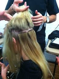 vomor hair extensions how much new hair extensions use surgical tape backstage at rebecca taylor