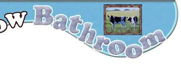 cow bath and bathroom gifts