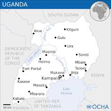 Uga Map File Uganda Location Map 2013 Uga Unocha Svg Wikimedia