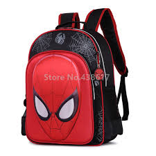 aliexpress buy fashion 3d spider man spiderman backpack