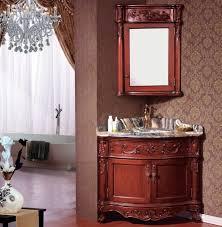 cheap price wooden classical corner bathroom vanity corner
