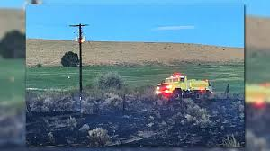 Wildfires Near Ephrata Wa by Another Cat Sparks Another Fire In Grant Co Krem Com