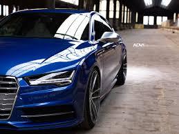 blue audi s7 audi a7 advrsq2 m v2 cs brushed aluminum