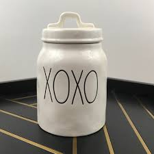 14 off rae dunn other rae dunn xoxo lidded canister by magenta