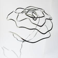 diy wire rose craftgawker
