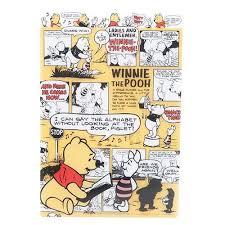 cute winnie pooh story panel desk pad writing mat cute