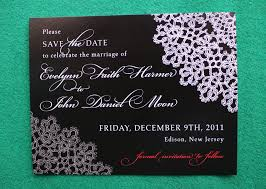 wedding save the date cards winter and christmas inspired wedding save the date cards