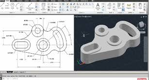 autocad design how to use autocad to design 2d and 3d mechanical idler plate