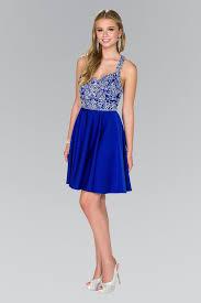 short blue dress with beaded bodice by elizabeth k gs2412 u2013 abc
