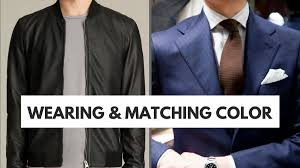 color tips to match clothing clothing style grooming etiquette quick tips