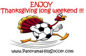 enjoy thanksgiving weekend no practice today oct 07 2016
