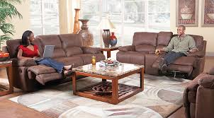 Rooms To Go Living Room Furniture by Cindy Crawford Home Van Buren Brown 3 Pc Reclining Living Room