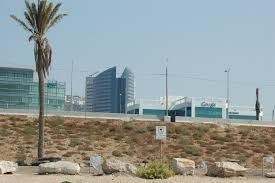 file intel and google buildings next to beach hof hacarmel