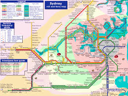 Barcelona Subway Map by Sydney Subway Map Travel Map Vacations Travelsfinders Com