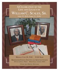funeral program for w c scales sr by linda mclaughlin issuu