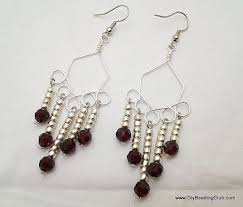Wire Chandelier Earrings 1 Jewelry Making For Beginners