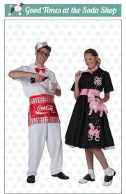 Soda Halloween Costumes Poodle Skirts
